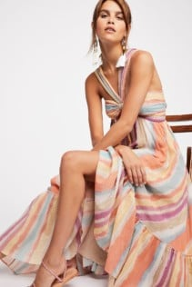 FREEPEOPLE Tropical Sunrise Maxi Faded Sunrise Dress, Free People dresses ... The cool girl's affordable label