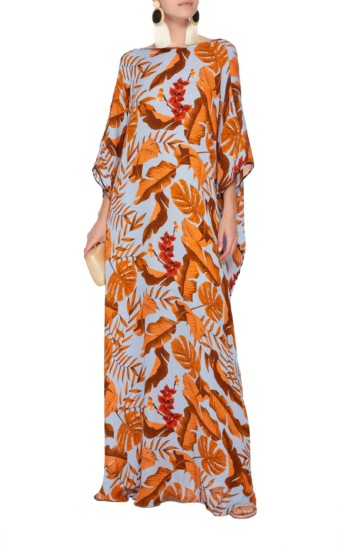 JOHANNA ORTIZ M'O Exclusive Rwanda Silk Double Georgette Printed Dress