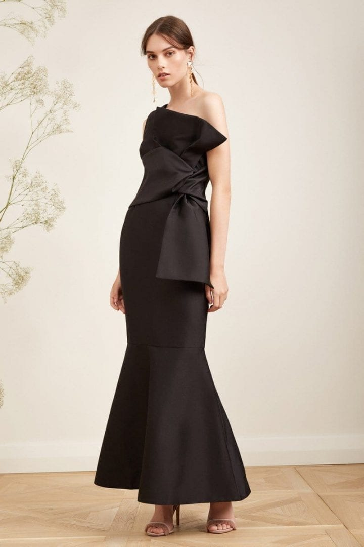 KEEPSAKE Retrogade Black Gown