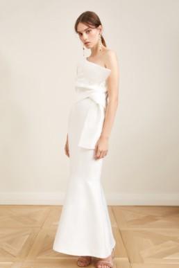 KEEPSAKE Retrogade Ivory Gown