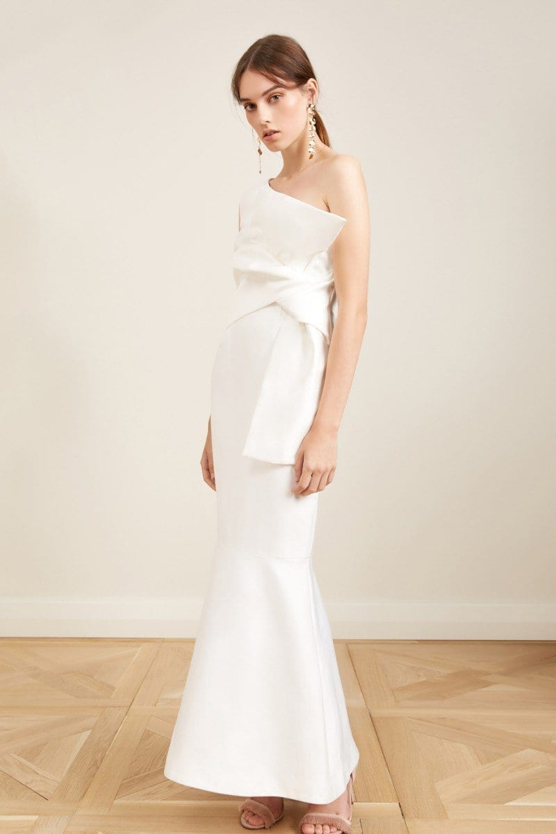 KEEPSAKE Retrogade Ivory Gown