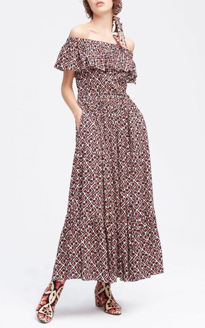 LA DOUBLEJ Double Love Printed Dress