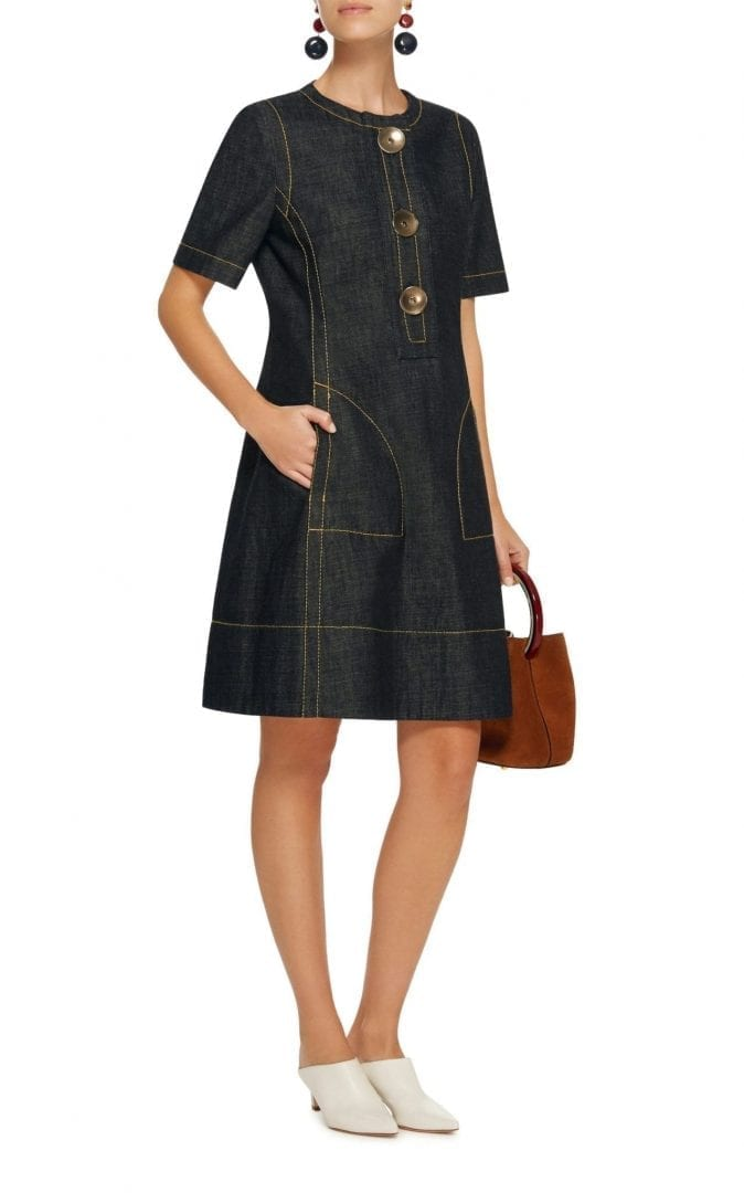603cf8ba006 MARNI Indigo Denim Blue Dress - We Select Dresses