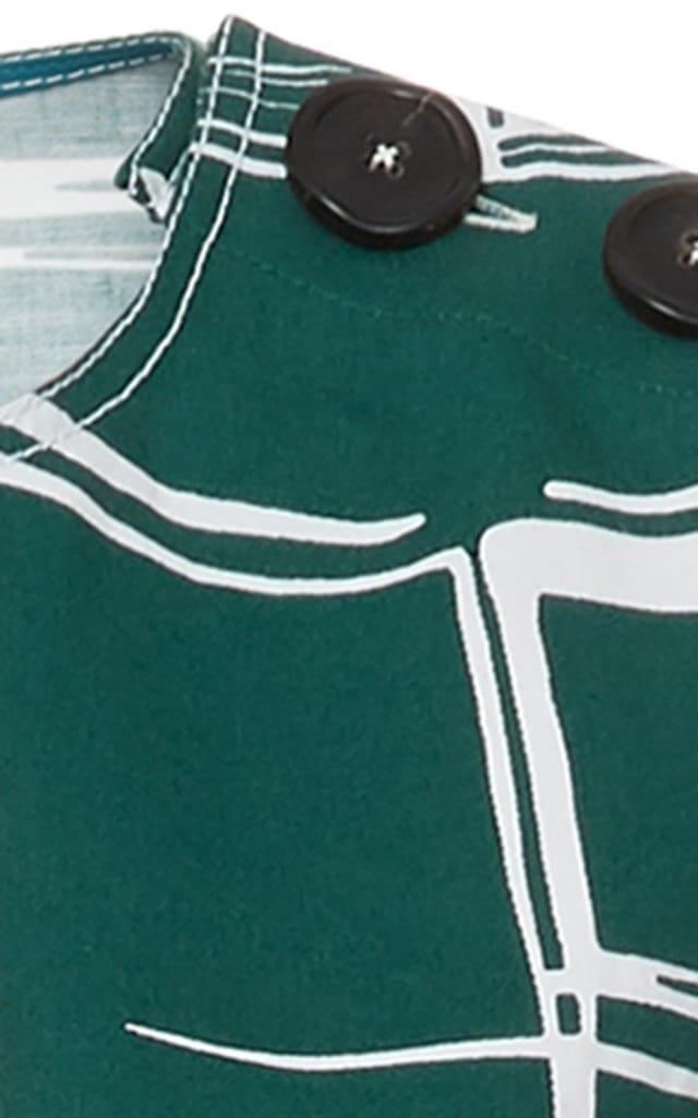MARNI Sleeveless A Line Green Dress
