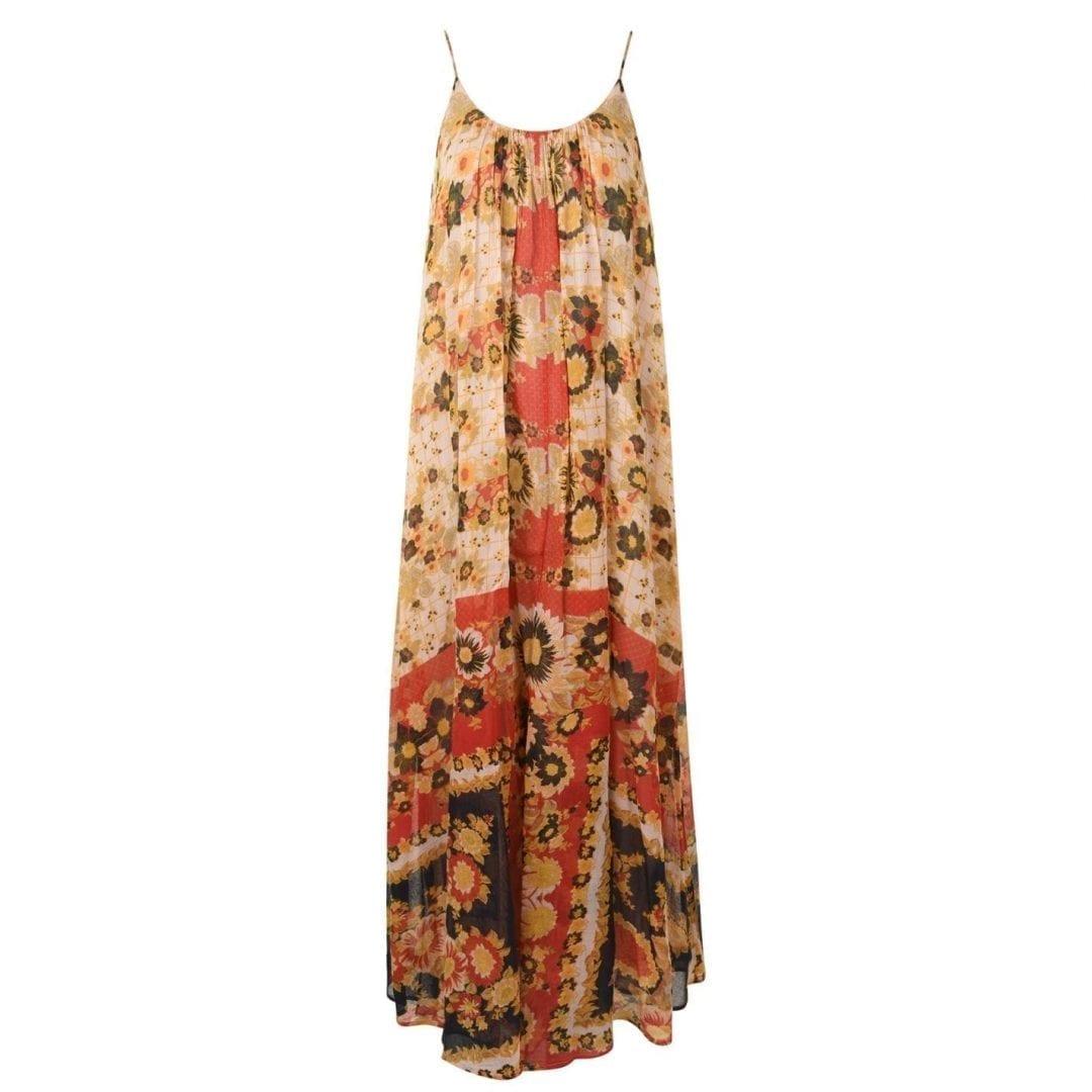 MES DEMOISELLES Magdalena Multicolored Dress