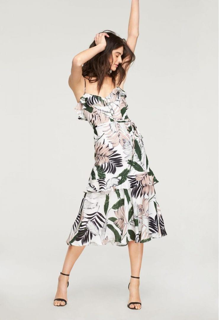 MILLY Tropics Petal Multi / Printed Dress