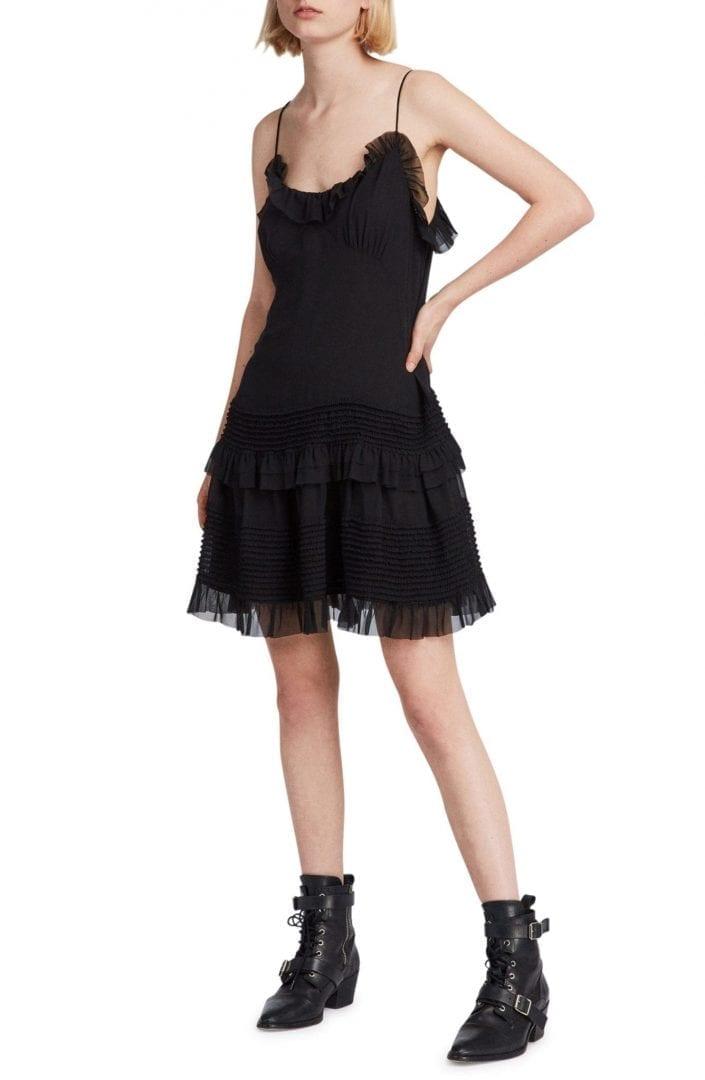 ALLSAINTS Sanse Black Dress