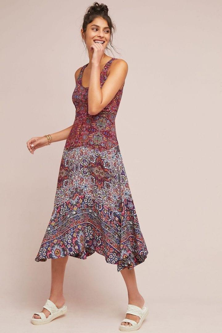 MAEVE Violette Purple Dress