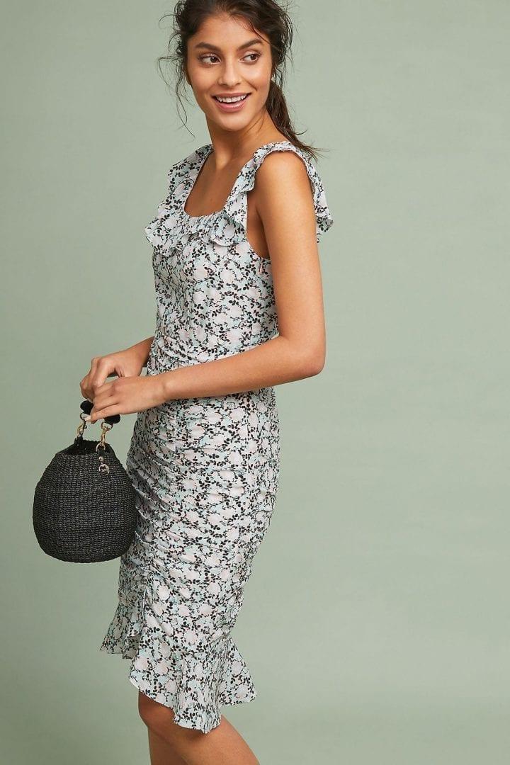 NANETTE LEPORE Nanette Lepore Miami Silk Pink Dress