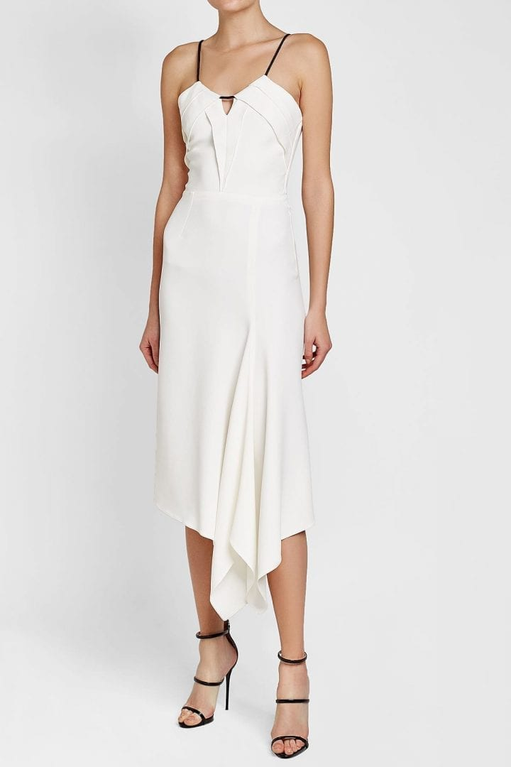 ROLAND MOURET Fazeley White Dress