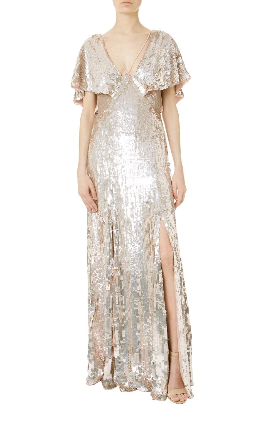 TEMPERLEY LONDON Bardot Procelain Dress