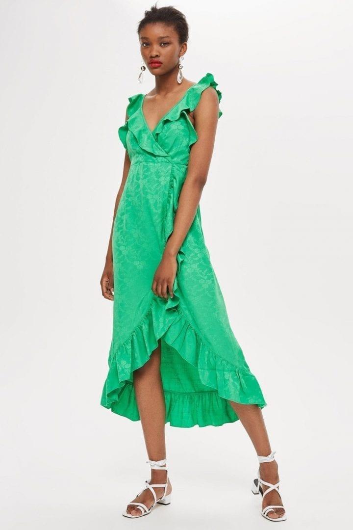 184821c1065 Floral Wrap Midi Dress Topshop | Huston Fislar Photography