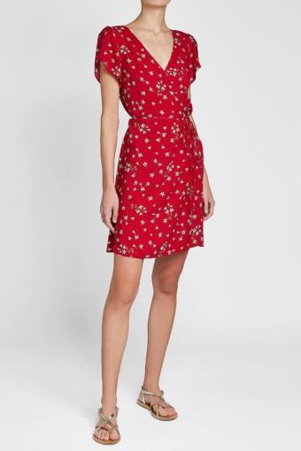 VELVET Amaury Red / Printed Dress