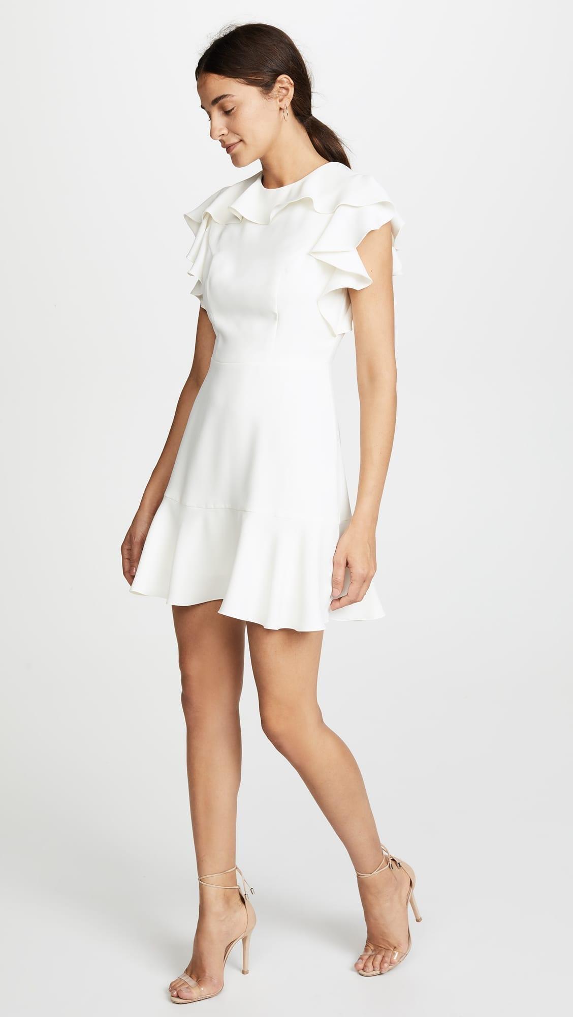 AMANDA UPRICHARD Emery Ivory Dress - We Select Dresses