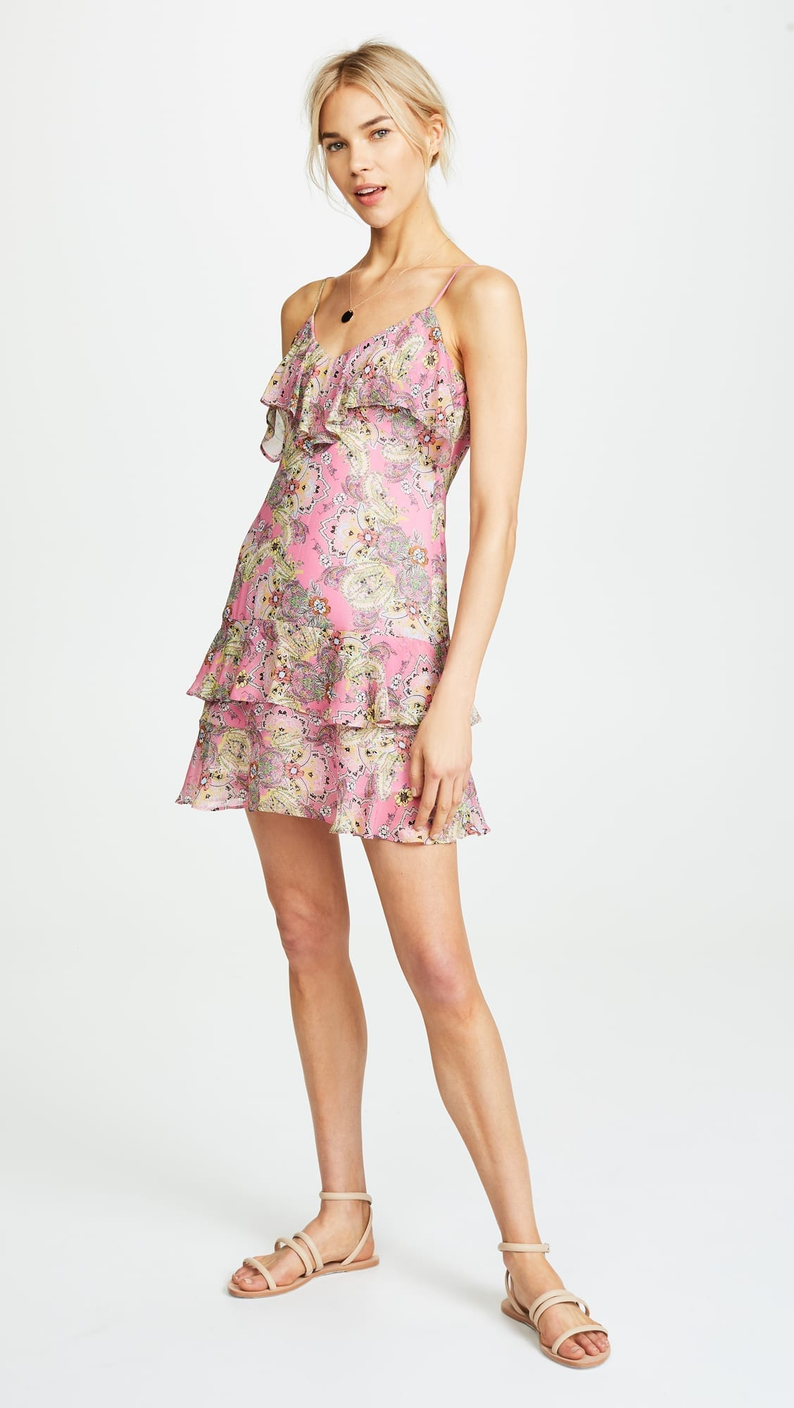 BAILEY44 Daydream Pink / Floral Printed Dress