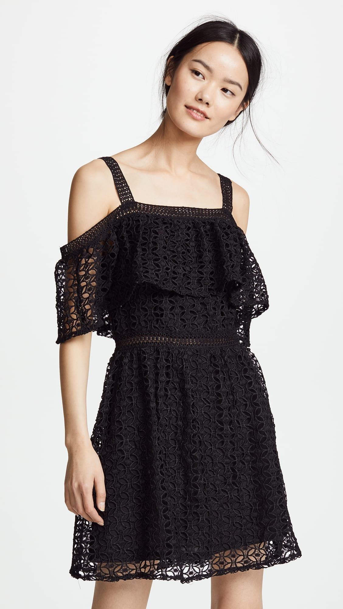 JACK BY BB DAKOTA Aitana Black Dress