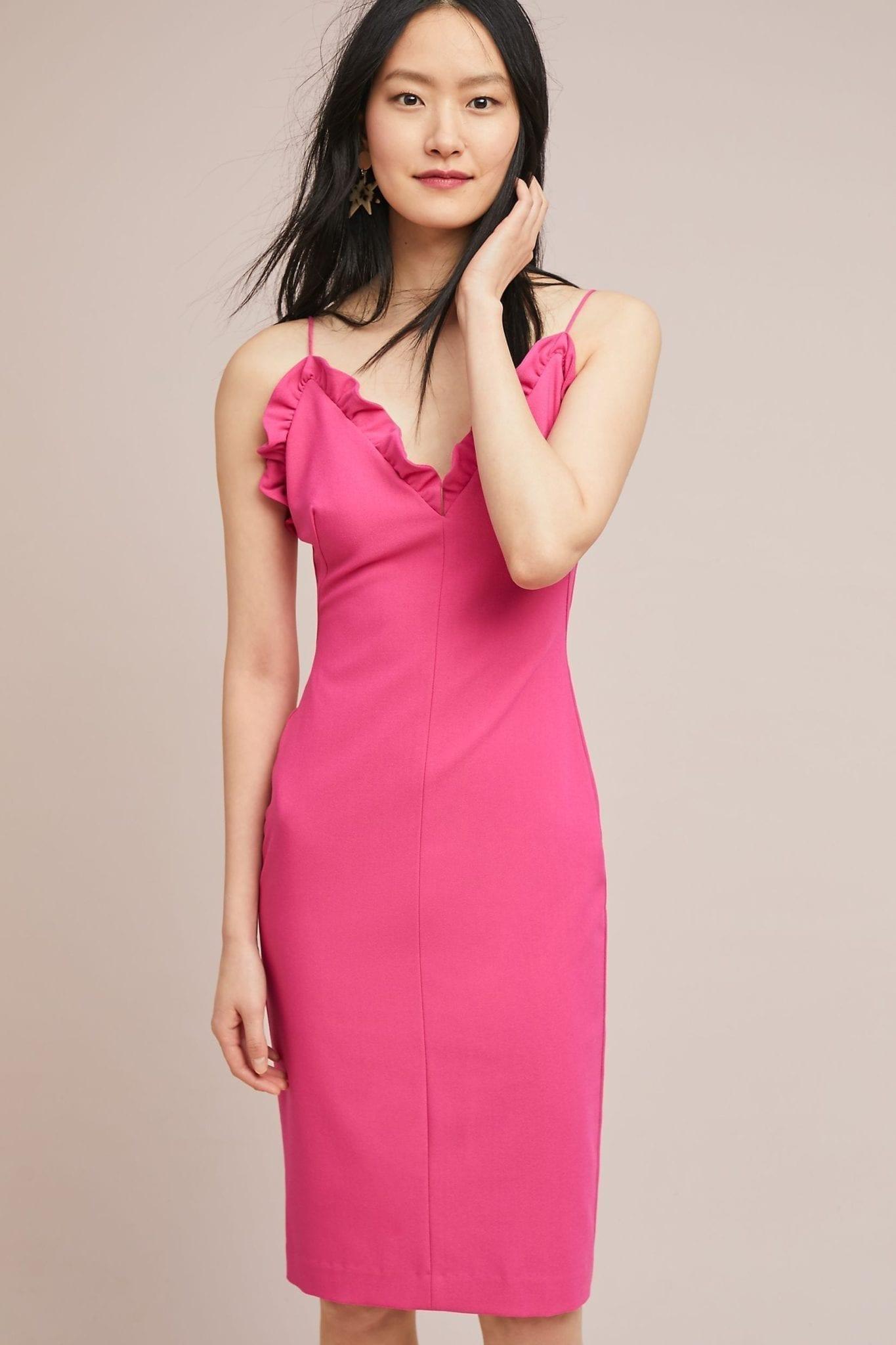 BLACK HALO Juliette Sheath Pink Dress