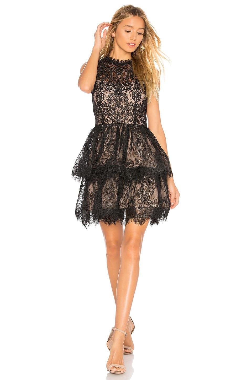 BRONX AND BANCO Florence Black Dress