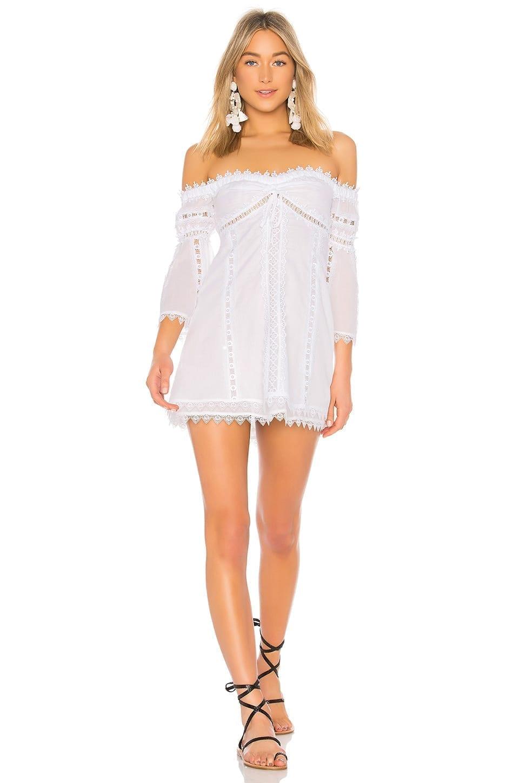 CHARO RUIZ IBIZA Campana White Dress