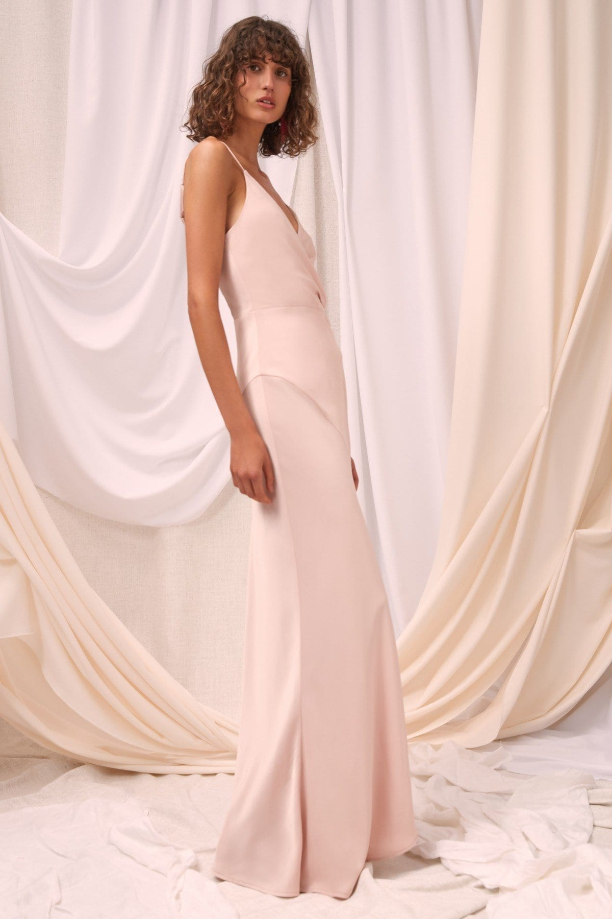 C/MEO COLLECTIVE No Less Shell Gown - We Select Dresses