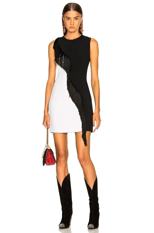 CUSHNIE ET OCHS Nisa Black / White Dress