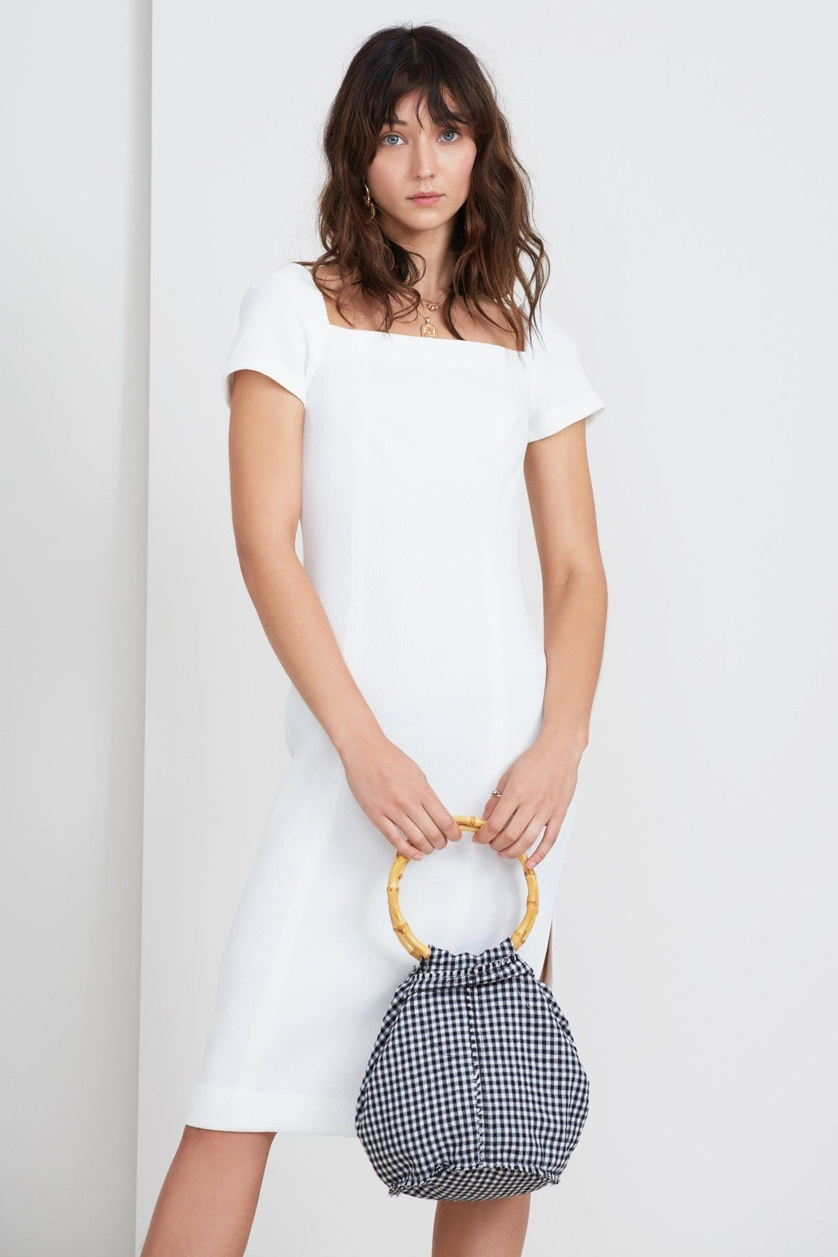 FINDERS KEEPERS Vice Midi Ivory Dress