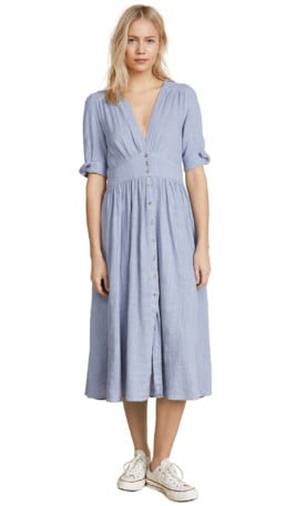 FREE PEOPLE Love of My Life Blue Dress