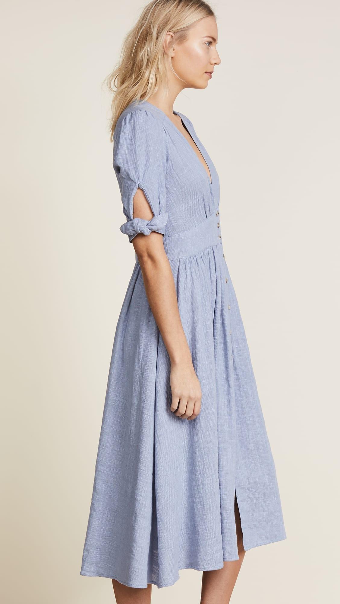 FREE PEOPLE Love of My Life Blue Dress
