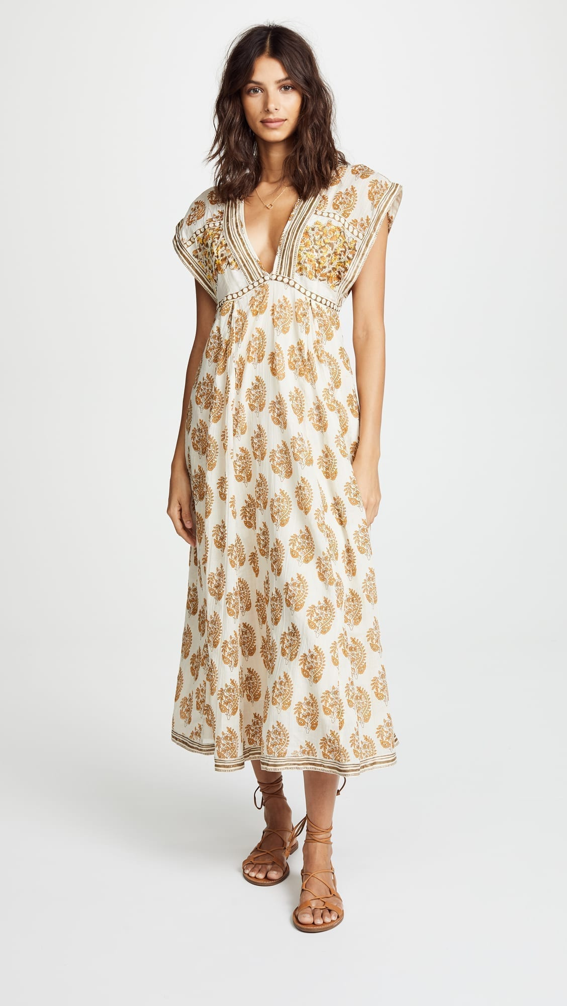 FREE PEOPLE Riakaa Pink / Floral Printed Dress - We Select Dresses