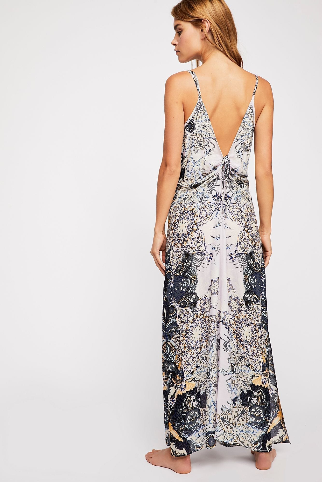 INTIMATELY Wildflower Printed Slip Lilac Dress - We Select Dresses
