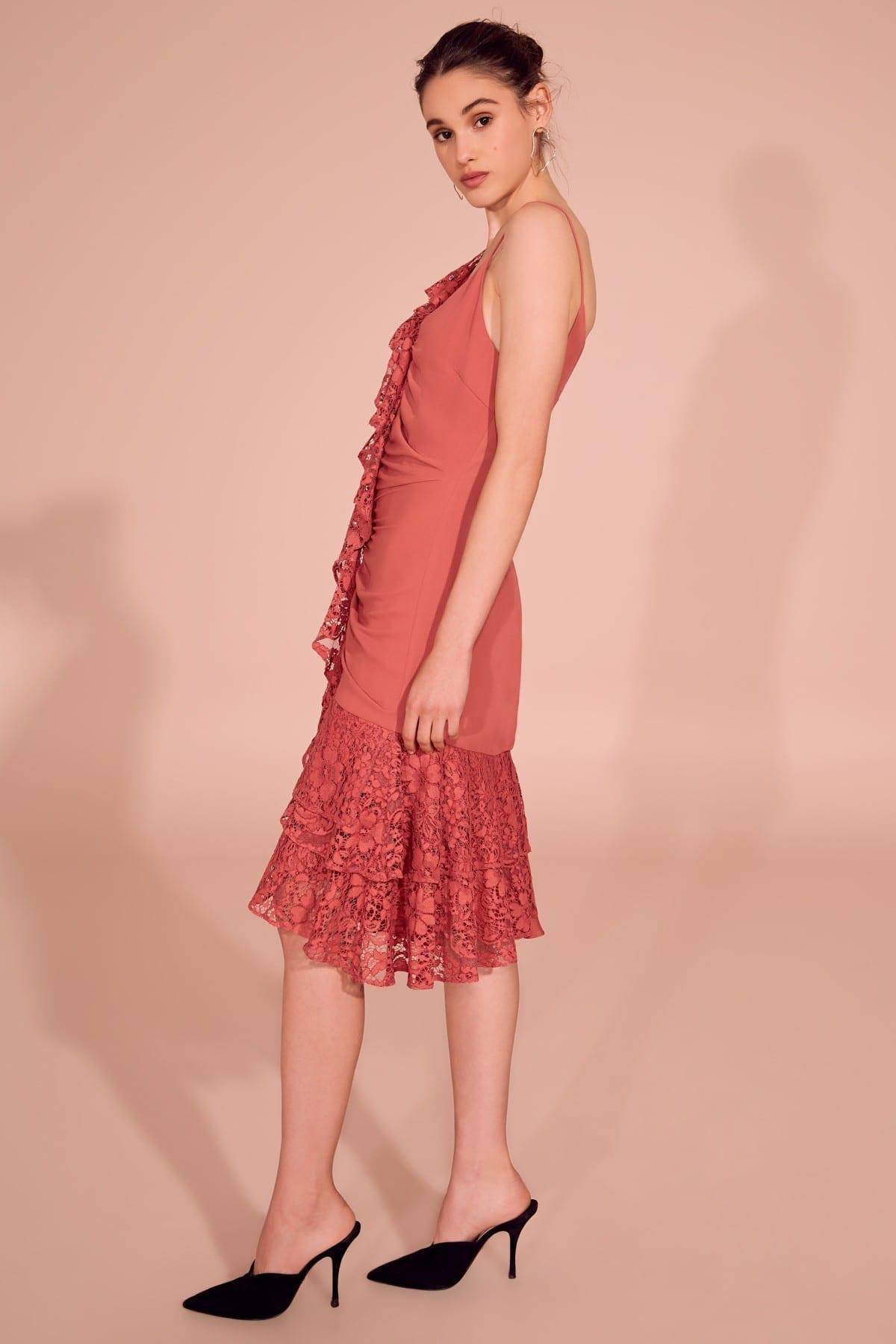 KEEPSAKE All Night Faded Rose Dress - We Select Dresses 04f455a3d