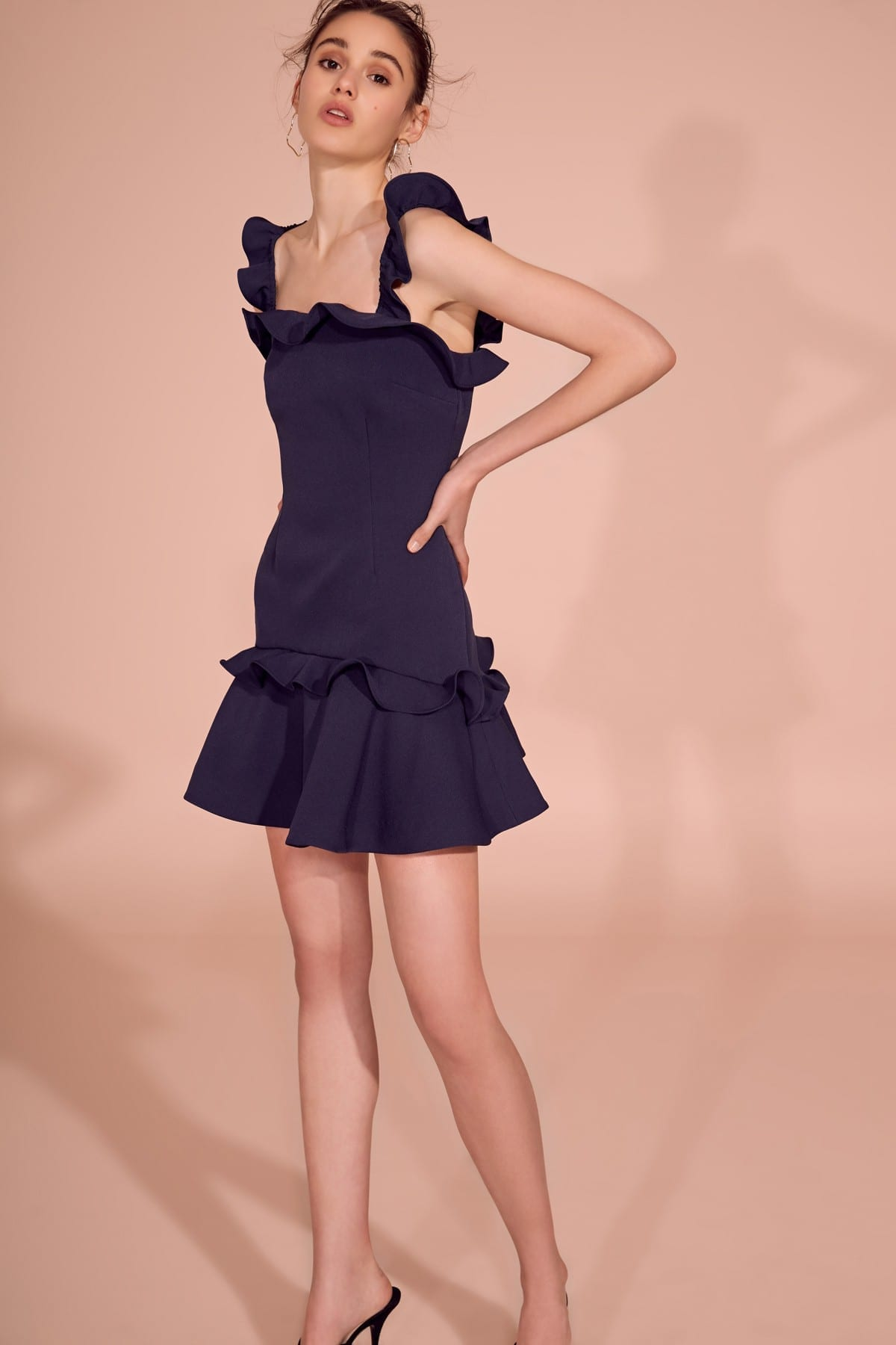 KEEPSAKE Escape Mini Navy Dress