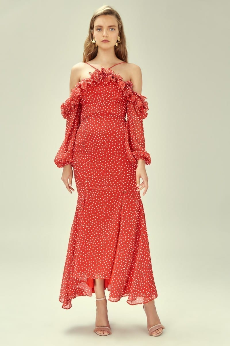 KEEPSAKE Moonshine Red Gown