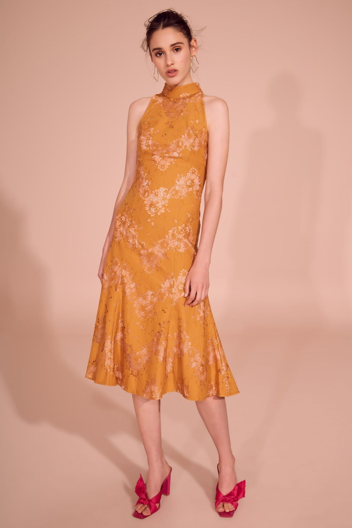 KEEPSAKE This Love Midi Amber Dress