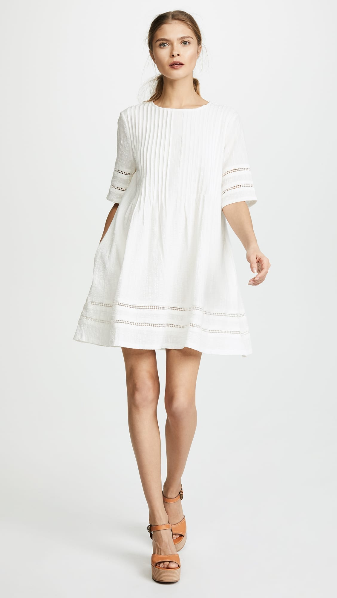 KNOT SISTERS Phillips White Dress