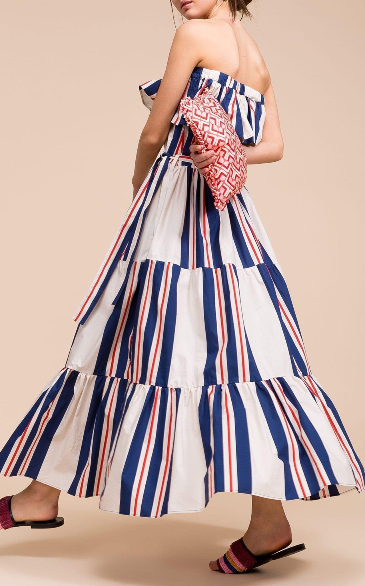 LA DOUBLEJ Yacht Maxi White Dress