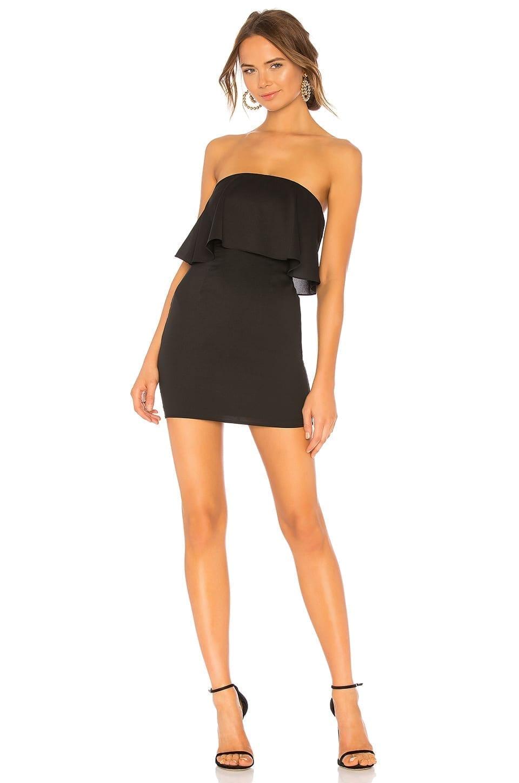 LOVERS + FRIENDS Daniella Mini Black Dress