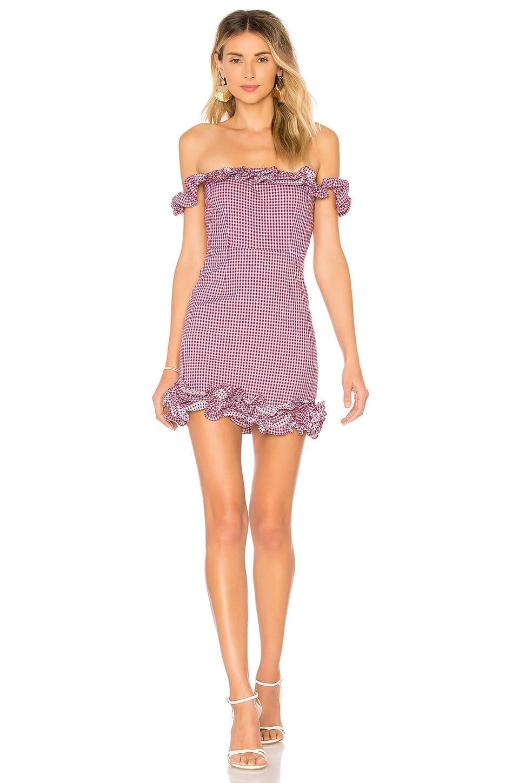 LOVERS + FRIENDS Dustin Mini Magenta Dress