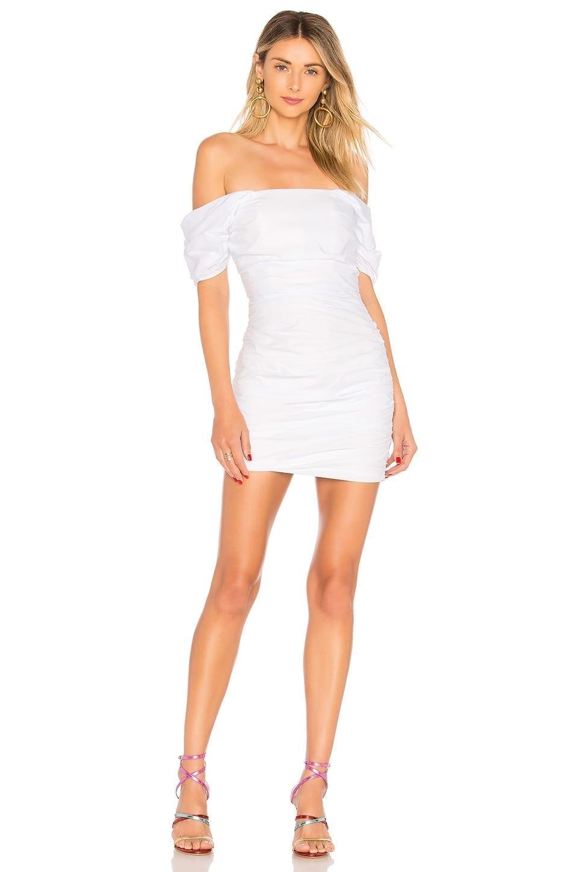 LOVERS + FRIENDS Joss White Dress