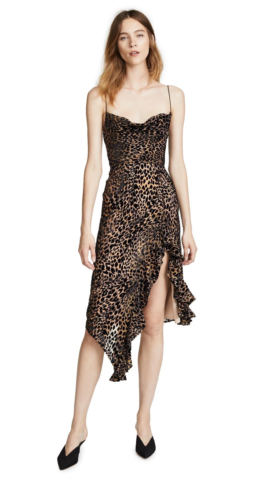 57a6b053ec30 MISHA COLLECTION Emilia Leopard Dress - We Select Dresses