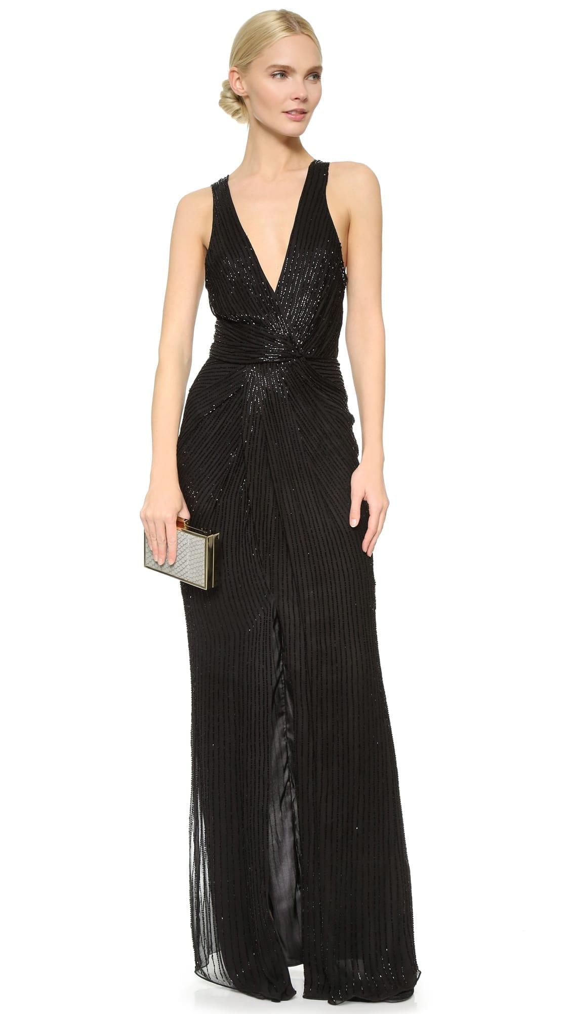 1631f84d47a PARKER Monarch Black Gown - We Select Dresses
