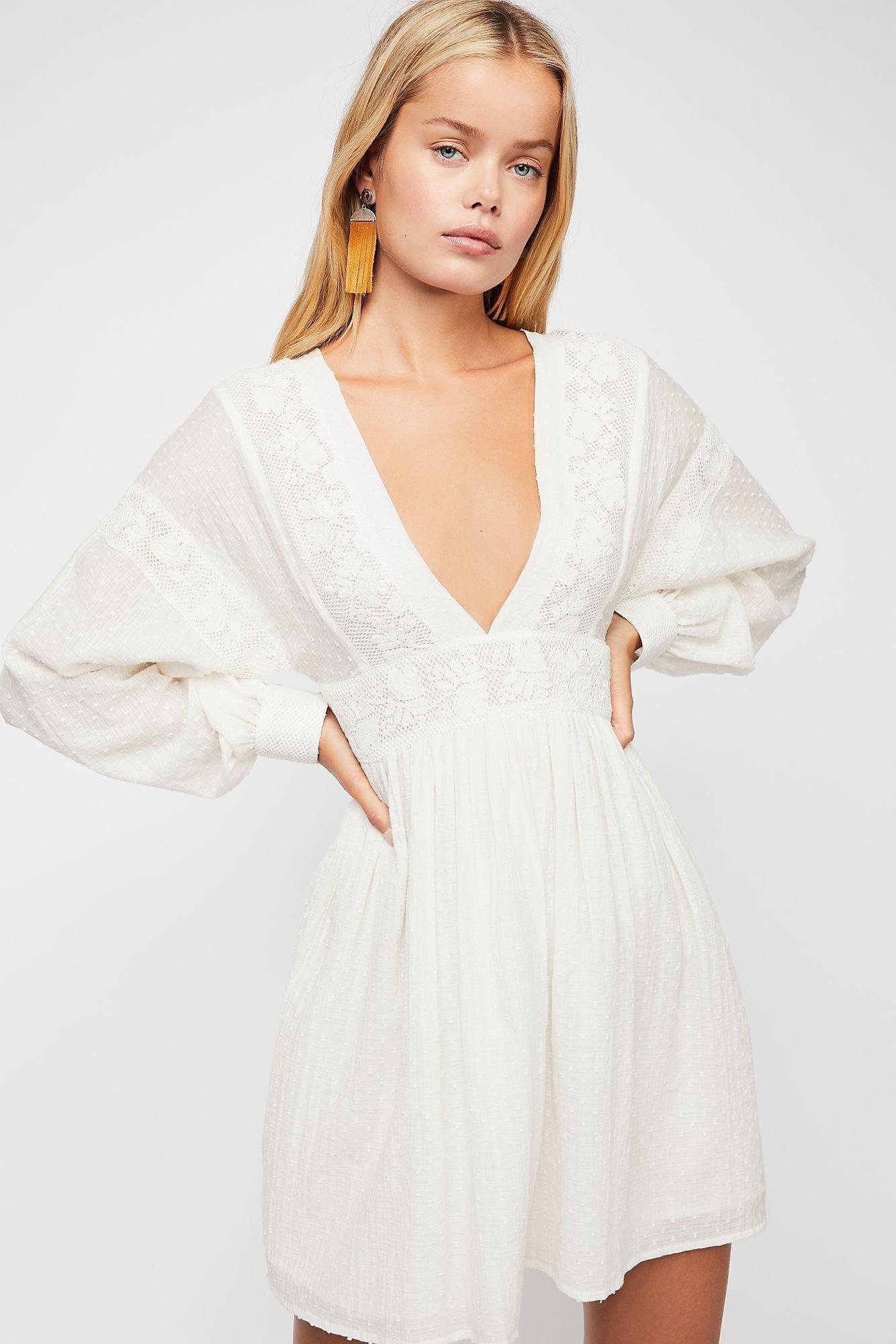 SUGARPIE Mini White Dress