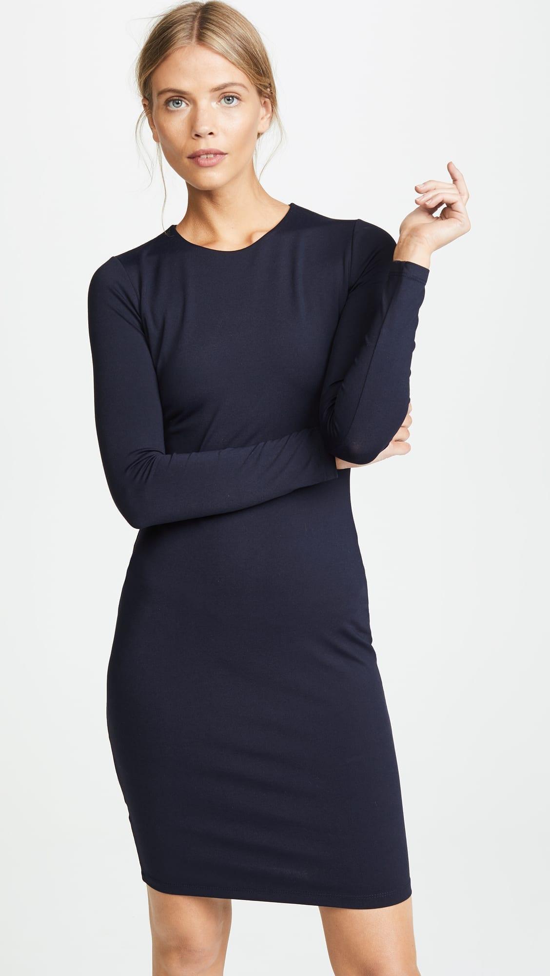 3087d9fe09ed SUSANA MONACO Emma Long Sleeve Midnight Dress - We Select Dresses