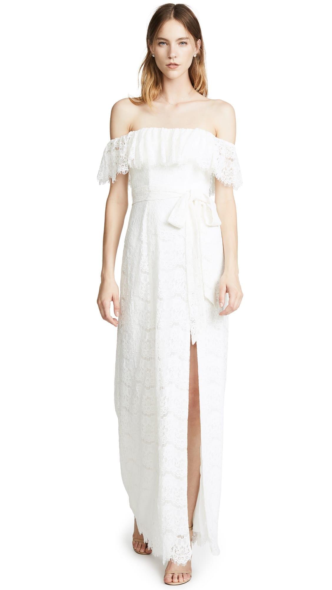 YUMI KIM Maribella Maxi White Dress