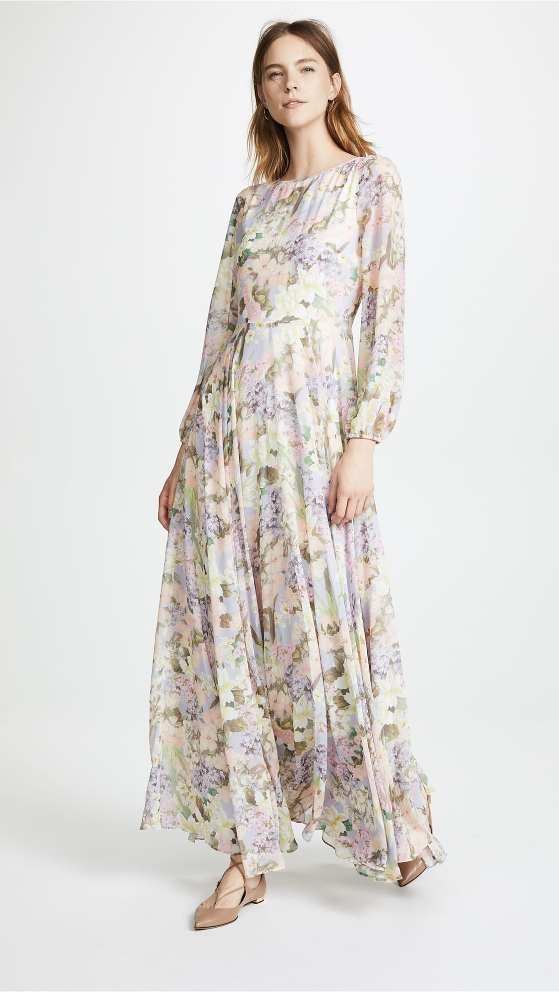 YUMI KIM True Love Maxi Garden Light Oasis / Floral Printed Dress