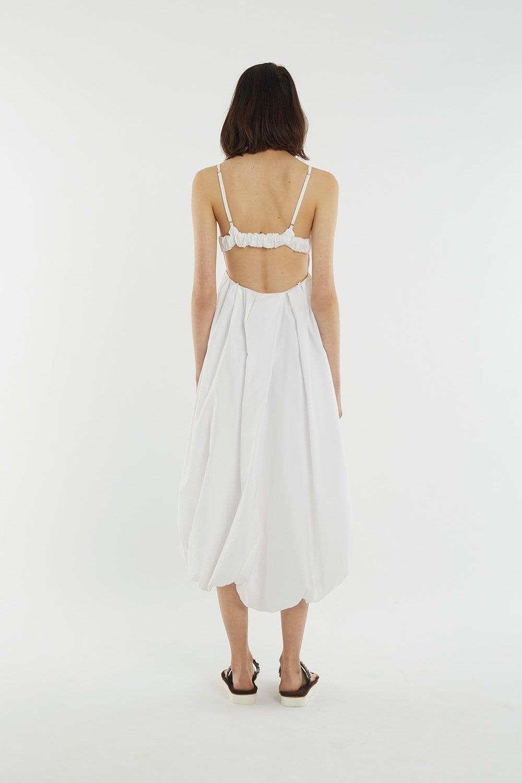 Bubble white dress