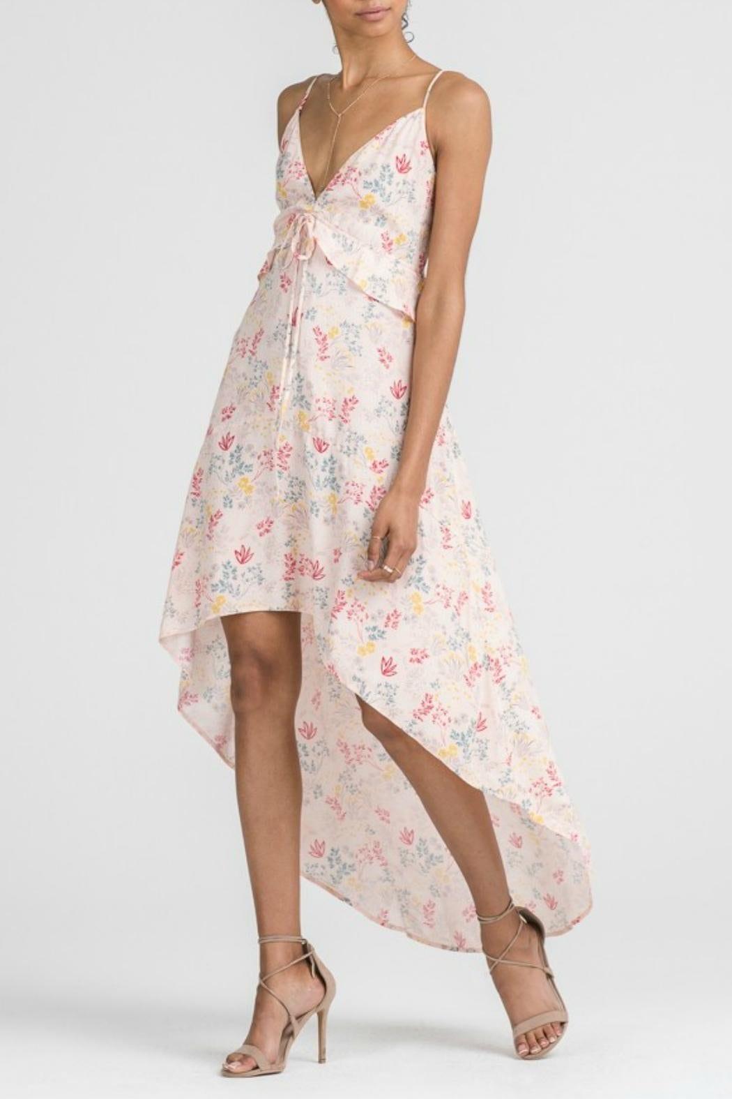 APRICOT LANE - FOLSOM Hi-low Max Multi / Floral Printed Dress