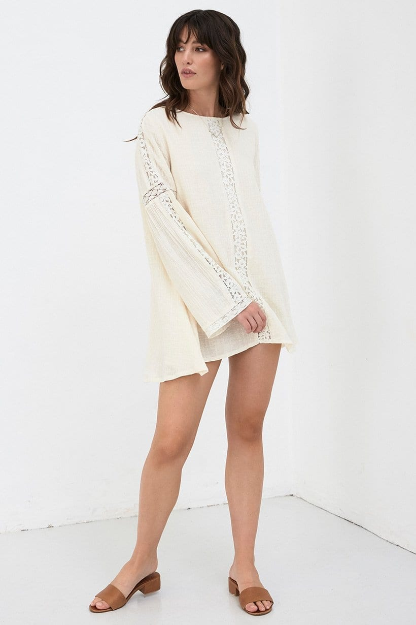 DOE EYED Mini Cream Dress