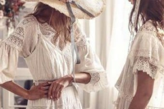 Graceful White Dresses For An Elegant Summer Look