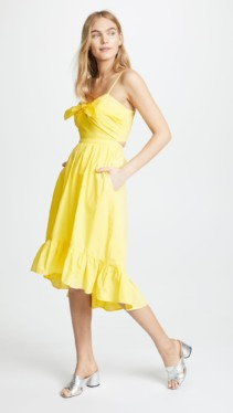 Brighten Up Your Wardrobe With Sunny Yellow Dresses